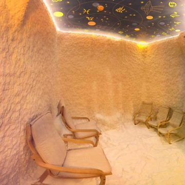 Реставрация соляной комнаты