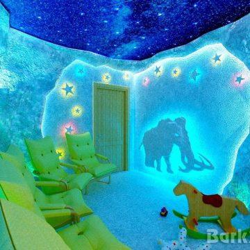 Соляная пещера в детском центре в Новосибирске