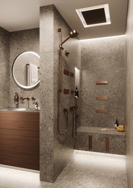 Спа-зона в ванной комнате, душевой