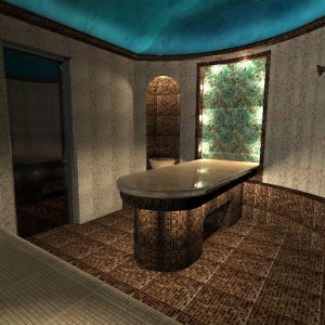 Дизайн хамама с визуализацией, цена