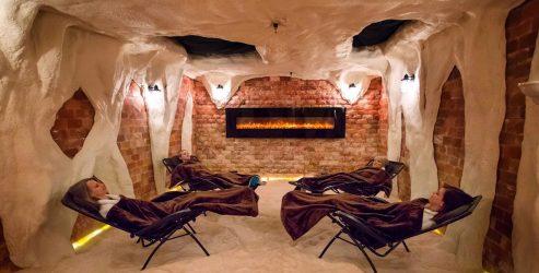 Комбинированные соляныен комнаты под ключ в Новосибирске