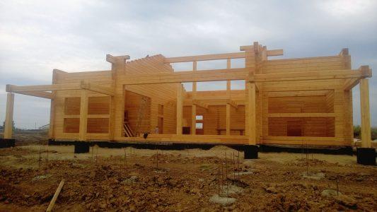 Строительство бани под ключ в Академгородке